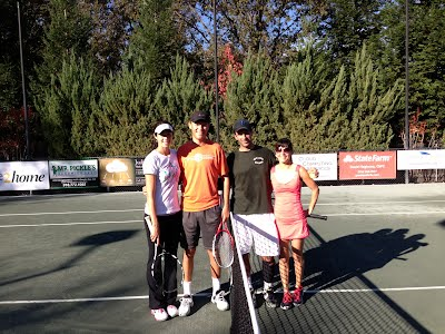 L to R Yasmin Schnack, Eric Roberson, Justin Coupe, Petra Wallace